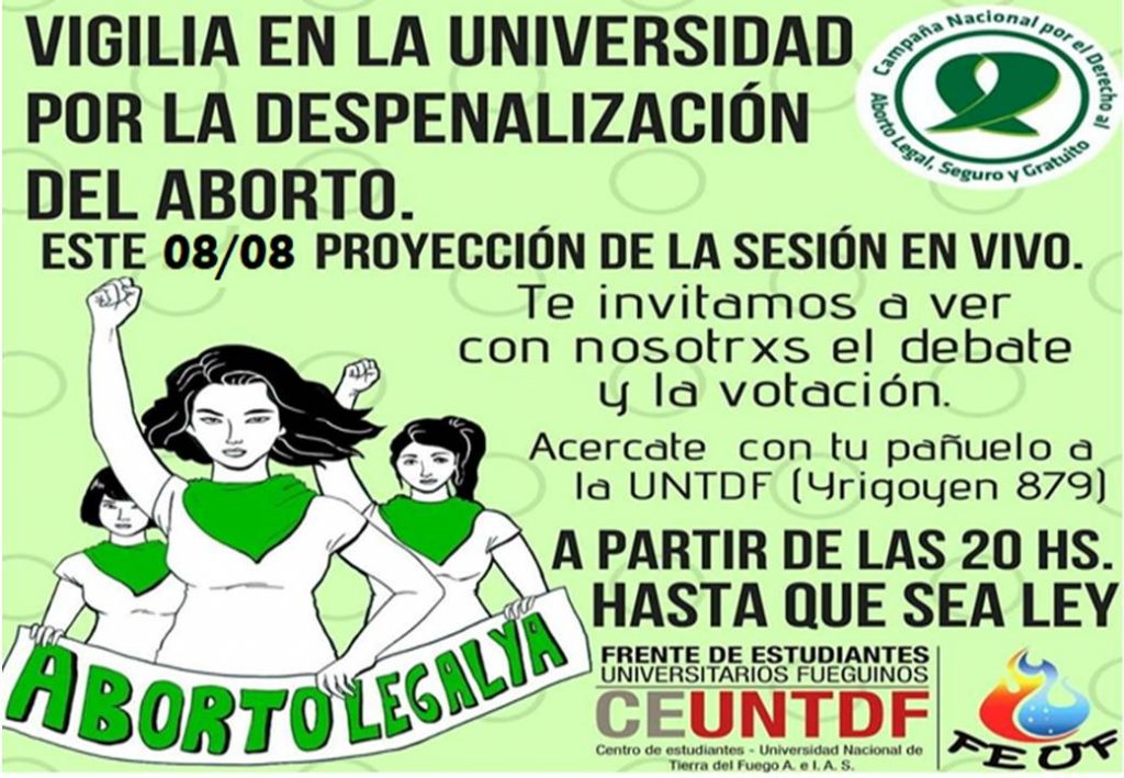 Flyer legalizacion del aborto
