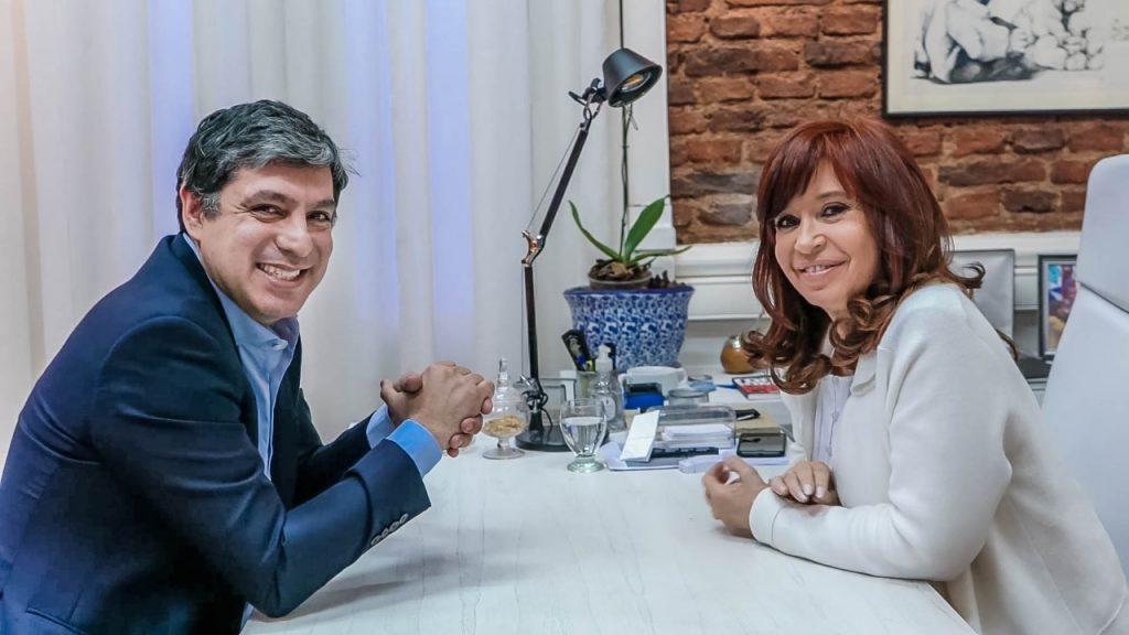 Matias Rodriguez y Cristina Fernández