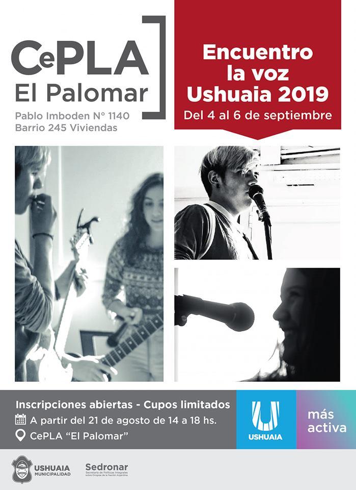 Encuentro la voz Ushuaia