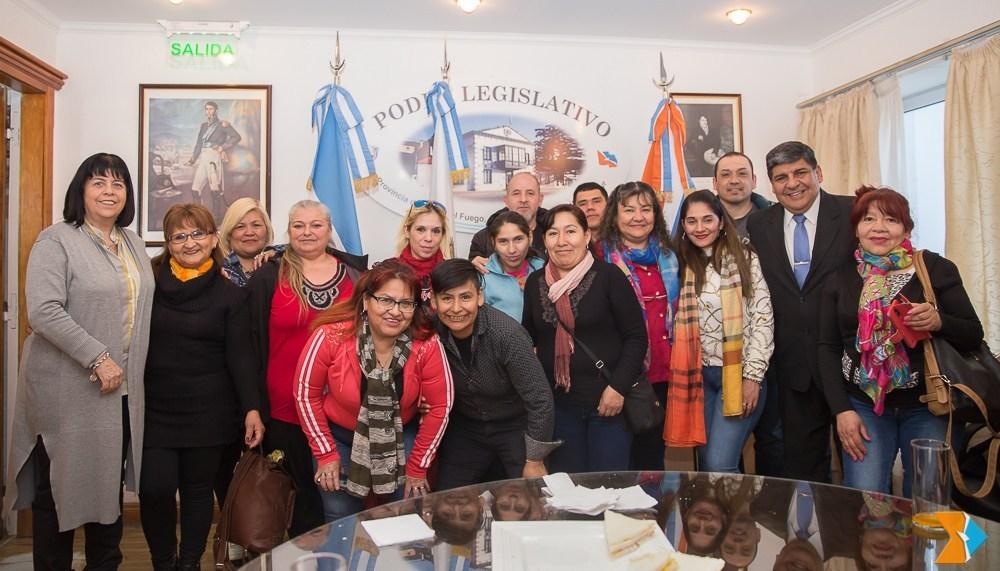 Photo of Estudiantes de la ciudad de Río Grande visitaron la Presidencia del Parlamento