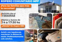 Photo of ROPERO COMUNITARIO EN EL MPF USHUAIA