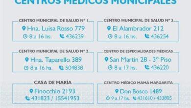 Photo of DIRECCIÓN Y HORARIOS DE LOS CENTROS DE SALUD MUNICIPALES DE RÍO GRANDE