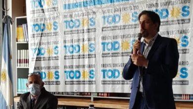 Photo of UNTDF: Fuerte respaldo del Ministro Trotta a la gestión del Rector Castelucci