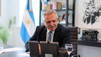 Photo of EL PRESIDENTE HABLÓ CON PUTIN SOBRE EL SUMINISTRO DE VACUNAS Y FUE INVITADO NUEVAMENTE A VISITAR RUSIA