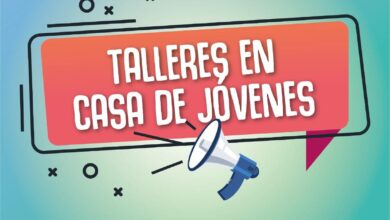 Photo of CASA DE JÓVENES: SUMATE A LOS TALLERES RECREATIVOS Y DE OFICIOS