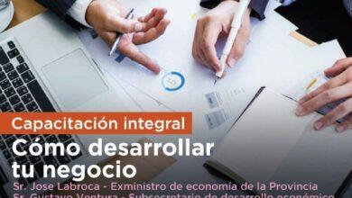 """Photo of LA MUNICIPALIDAD INVITA A LA CAPACITACION """"COMO DESARROLLAR TU NEGOCIO"""" PARA PYMES Y EMPRENDEDORES LOCALES"""