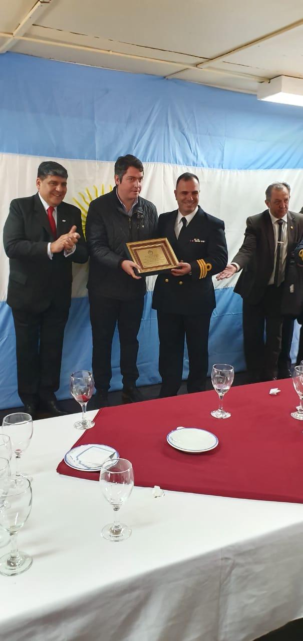 """Photo of Arcando acompañó los 70 años de la Base Aeronaval Río Grande """"Pioneros Aeronavales en el Polo Sur"""""""