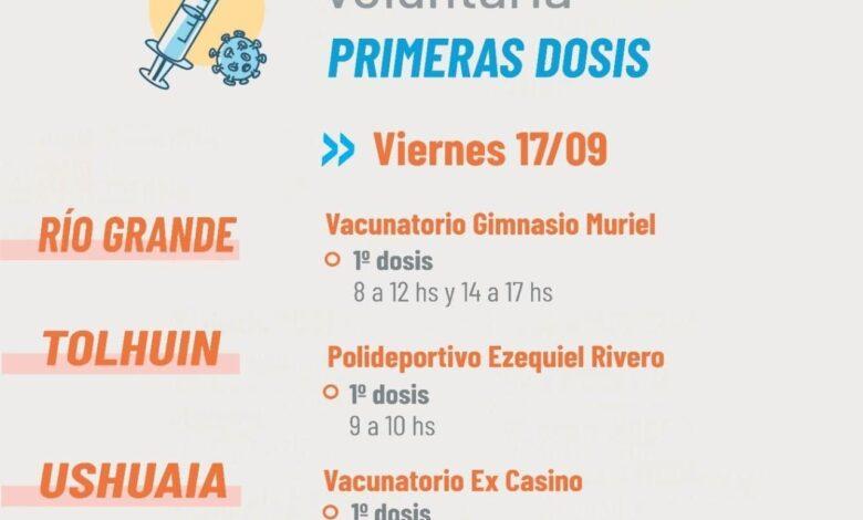 Photo of PLAN DE VACUNACIÓN CONTRA EL COVID-19: EL VIERNES SE APLICARÁN 1ª DOSIS A DEMANDA ESPONTÁNEA