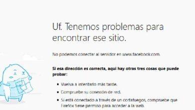 Photo of ACCIONES DE FACEBOOK SE DERRUMBARON CASI 5% TRAS FALLA GLOBAL DE SU SERVICIO