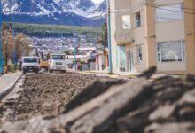 Photo of LA MUNICIPALIDAD COMIENZA TRABAJOS DE REPAVIMENTADO EN LA CALLE DAMIANA FIQUE